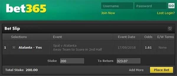 SPAl vs Atalanta Bet and Prediction
