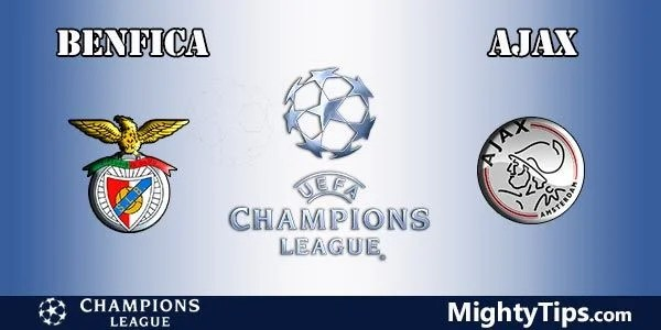 Benfica vs Ajax Prediction and Betting Tips