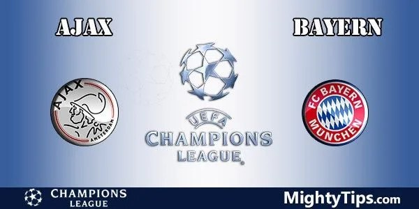 Ajax vs BayernMunich Prediction, Preview and Betting Tips