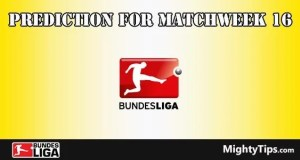 Bundesliga Prediction and Betting Tips Matchweek 16