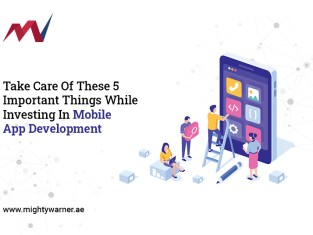 Take Care Of These 5 Important Things While Investing In Mobile-App-Development