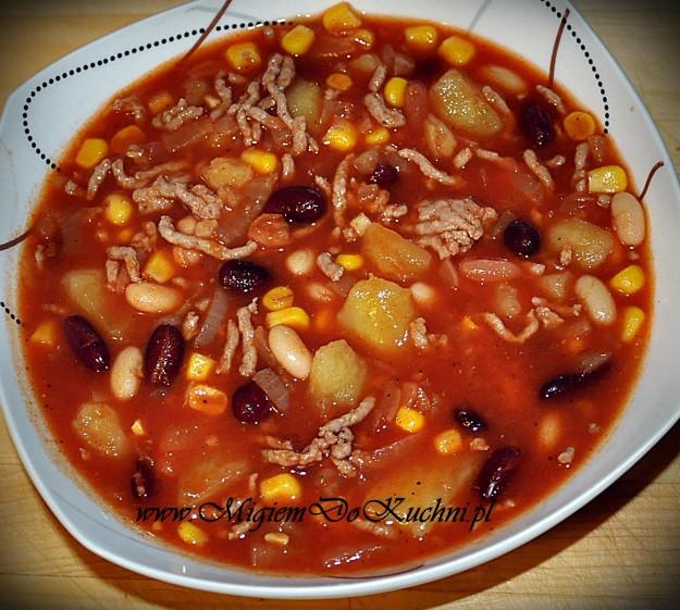 Zupa Meksykańska Błyskawiczna Migiem Do Kuchni