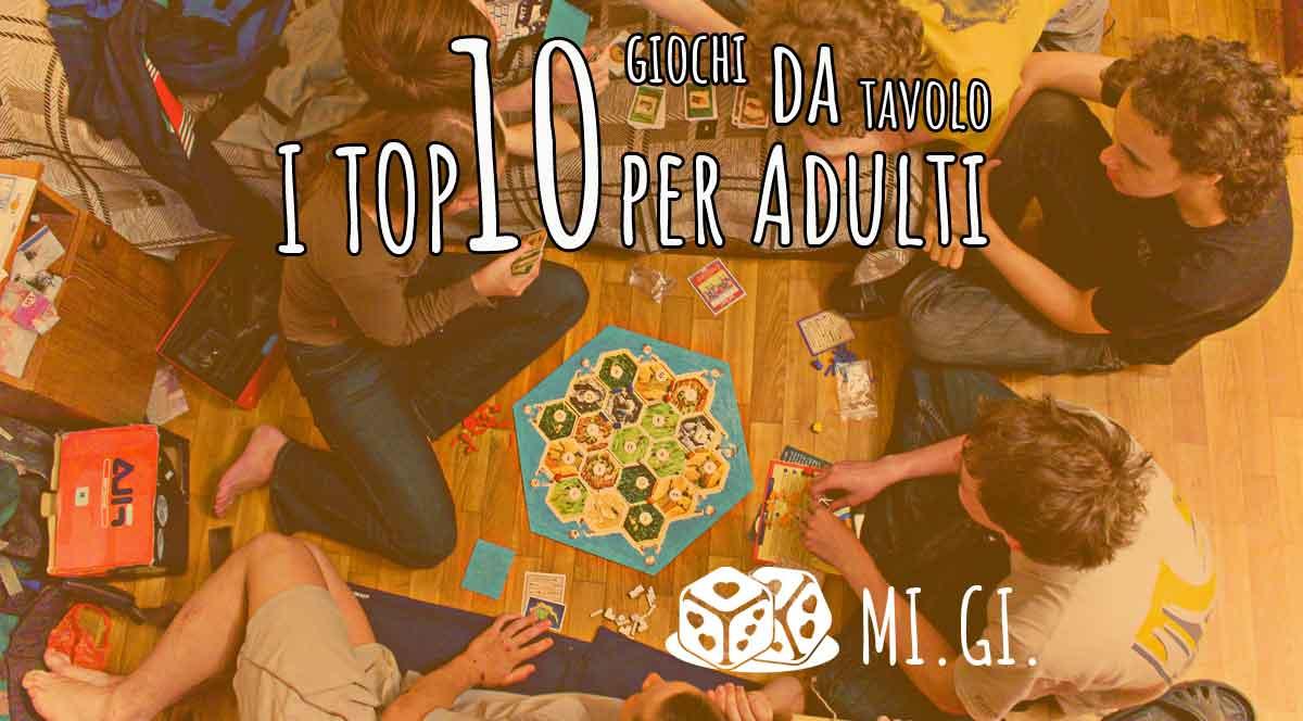 I 10 Migliori Giochi Da Tavolo E Di Società Per Adulti