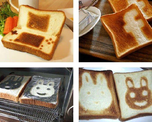 Come realizzare la propria Toast Art