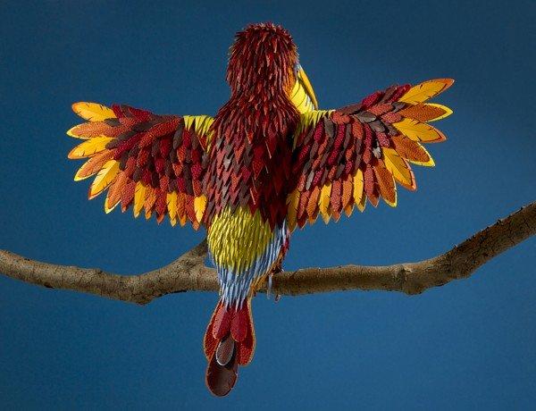 Hermès, animali in pelle colorati