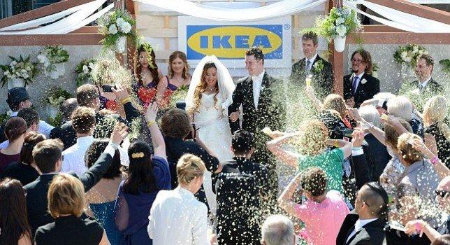 Matrimomio all'Ikea