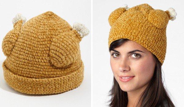 Cappello a forma di tacchino