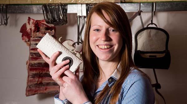 Le borse di trippa della designer Jocelyn Mather