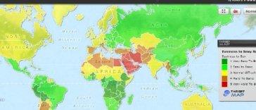 Ragazze facili: ecco la mappa nel mondo