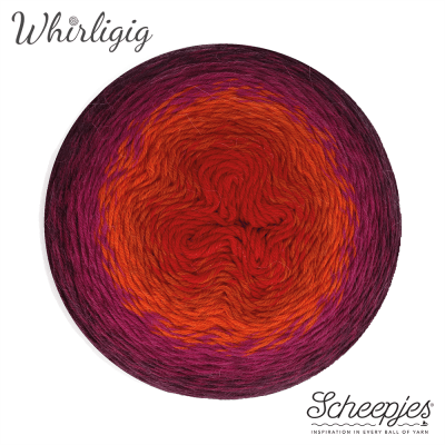 Whirligig 209 Plum to Red