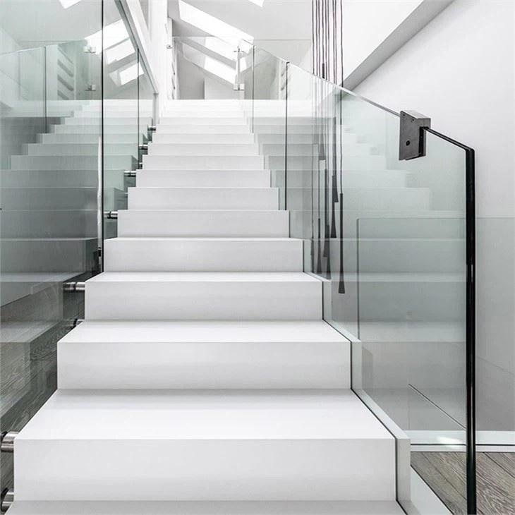 Frameless Glass Stair Railing Manufacturers And Suppliers China | Frameless Glass Stair Railing | Metal | Seamless Glass | Handrail | Framed Glass | Office