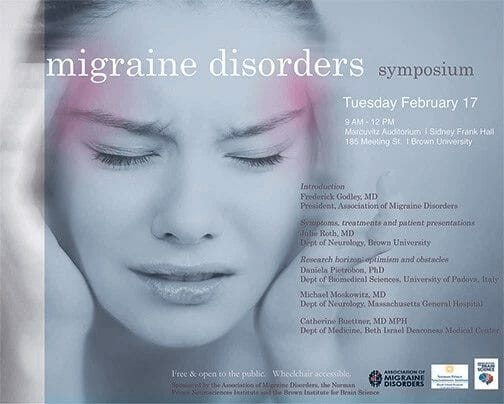 First migraine symposium at Brown a success!