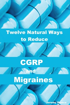 twelve natural ways to reduce CGRP and Migraines. Pinterest image