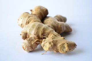 a picture of ginger root the can help treat migraine