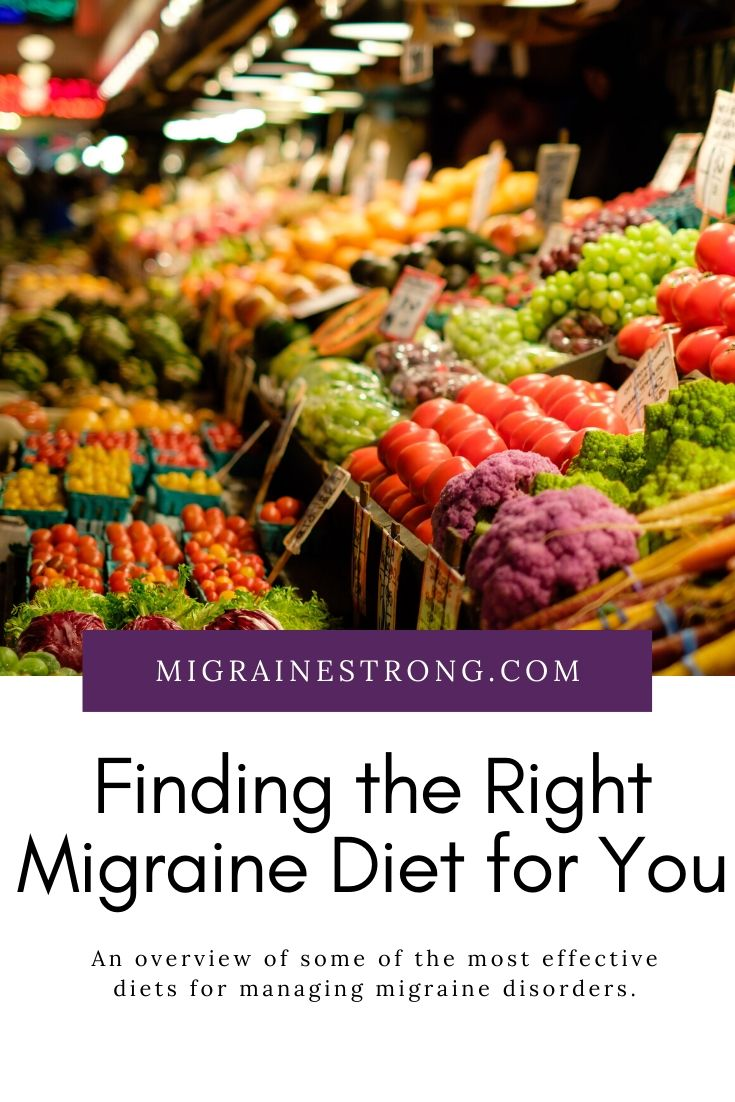 Finding the Migraine Diet That Is Best for You