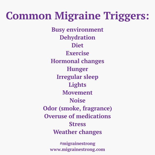 common migraine food triggers