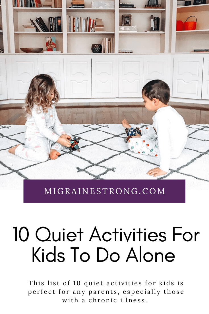 Quiet Activities For Kids When You Have A Migraine Attack