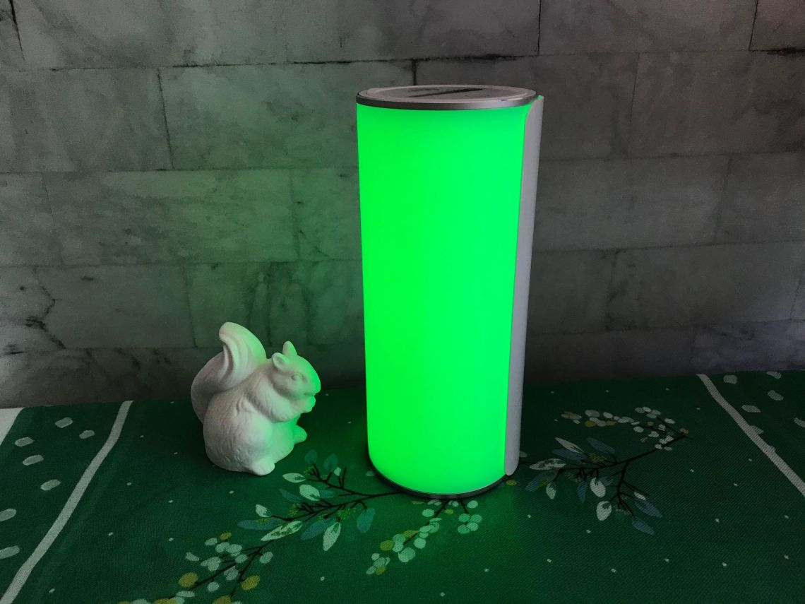 allay lamp green light for migraine
