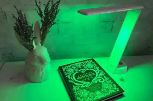 allay desk light for migraine