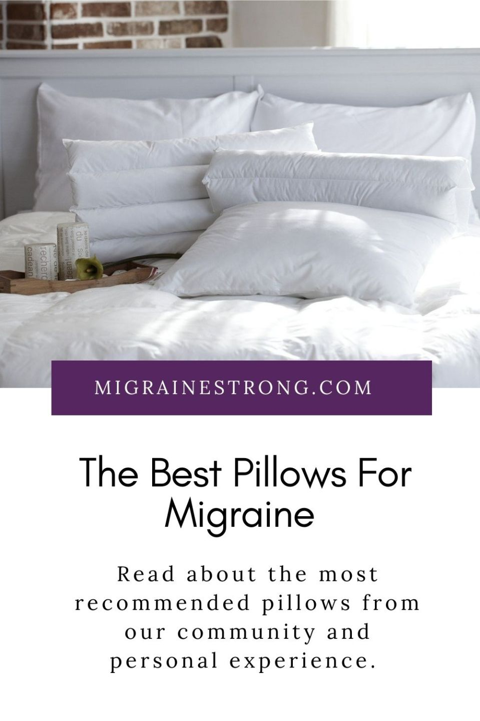 The Best Pillow For Migraine- Essential Info and Reviews