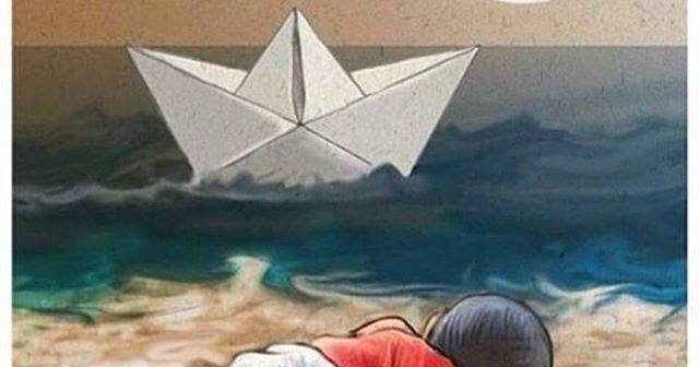 #WITHREFUGEES - Al mare si gioca