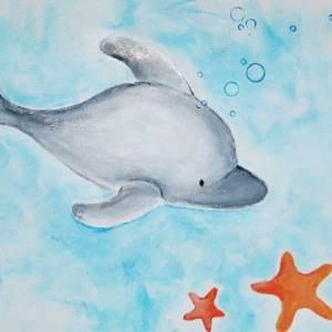 Migrate Design Illustration Dolphin