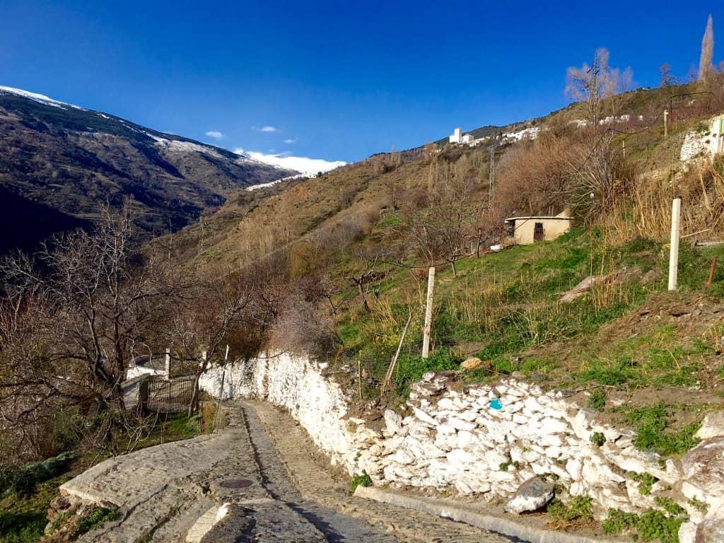 Walk Pampaneira to Bubion Las Alpujarras