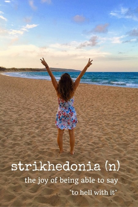 strikhedonia travel words