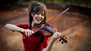 Lindsay Stirling Violin Youtube Branding