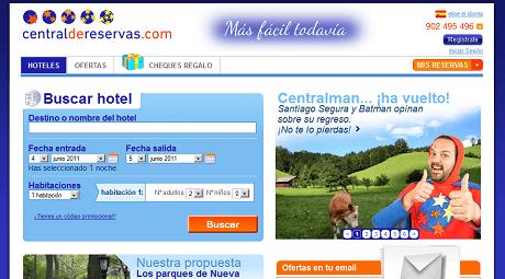 Centraldereservas.com