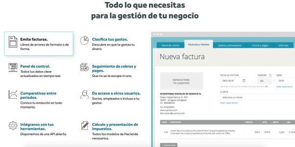 CUENTICA SOFTWARE ONLINE CONTABILIDAD FACTURACION PARA PYMES Y EMPRENDEDORES