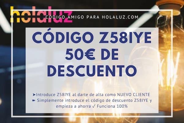 Codigo Holaluz Regalo Luz Amiga