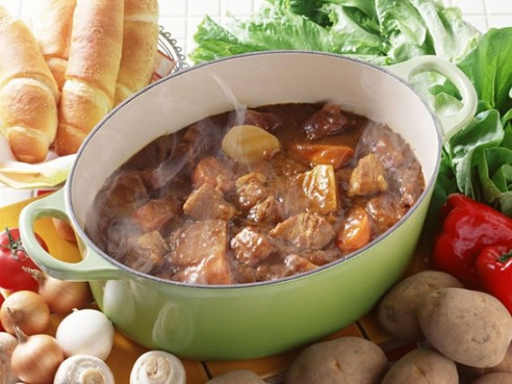 Spezzatino (estofado de carne - Cocina italiana)