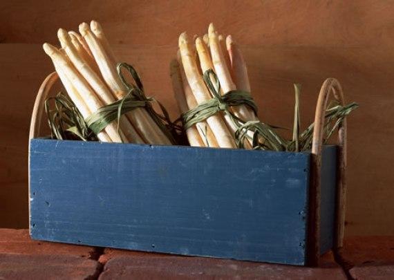 Fusilli con pesto de espárragos (Cocina italiana)