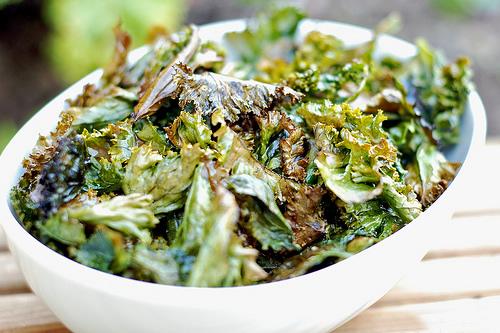 chips de col rizada - kale