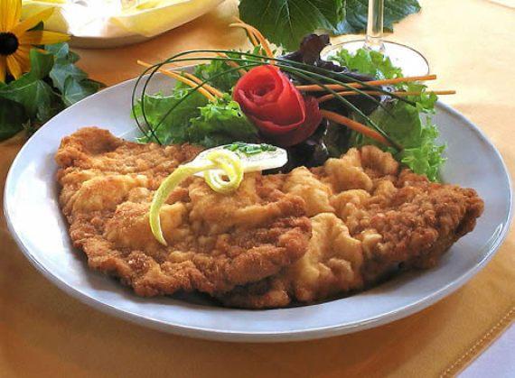 Wiener Schnitzel de cerdo (Escalope vienés - Austria)
