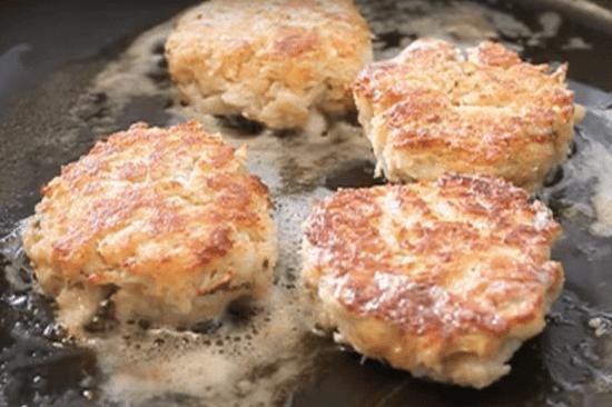 Pasteles de cangrejo (Crab Cake - Cocina Americana)