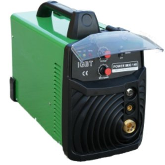 Everlast Poweri-MIG 140E MIG Welder, 110-120-volt, Green