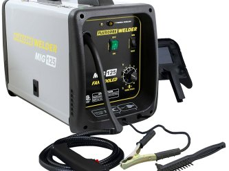 Pro-Series MMIG125 125 Amp Fluxcore Welder Kit, Black