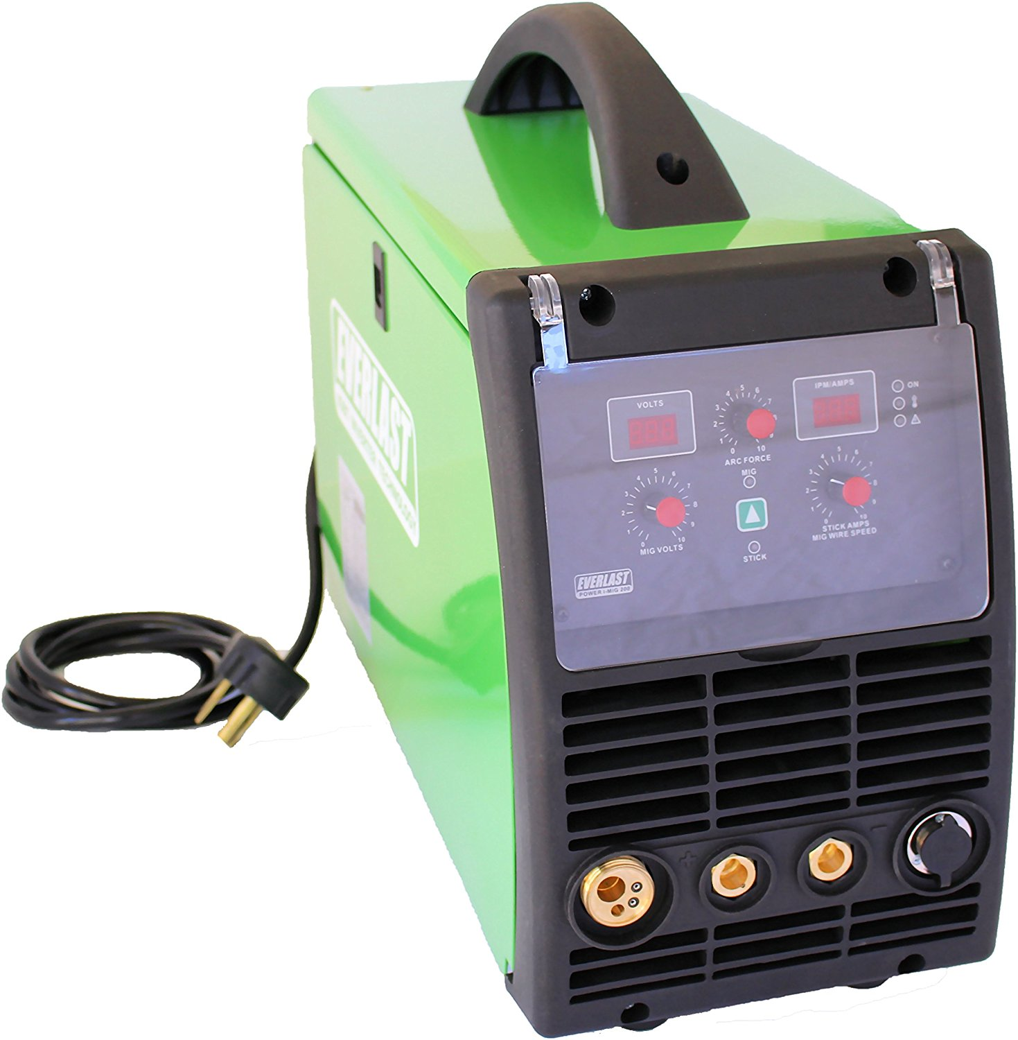2017 Everlast PowerMIG 200amp MIG stick welder