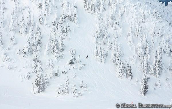 Skiing on Eaglecrest