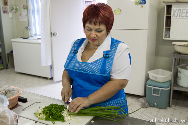 Food preparation at the Vityaz-Avto plant