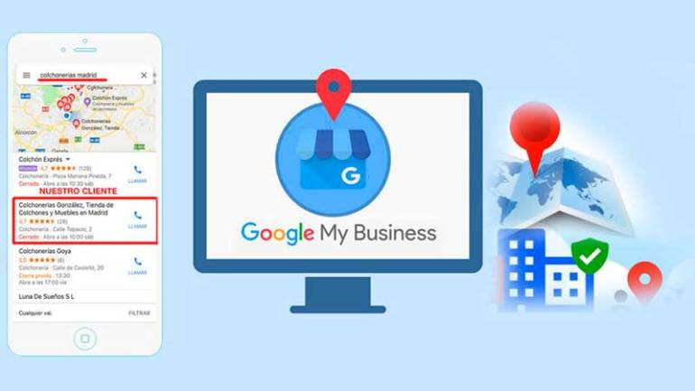 Posicionamiento local en Google SEO local. Google My Business