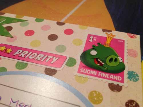 Kuoren värit vaativat possumaista postimerkkiä!