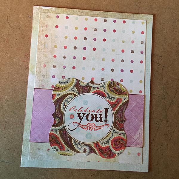 Tämä kortti päätyi Jutalle synttäriksi.