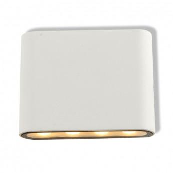 ndrd applique murale rectangulaire led 6w 4000k blanc ip54 miidex com