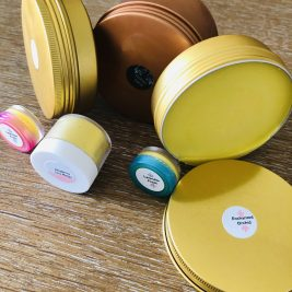 Body Butter in various sizes.