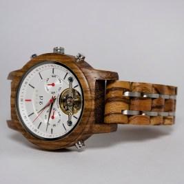 Luxury Wooden Watch Zebrano