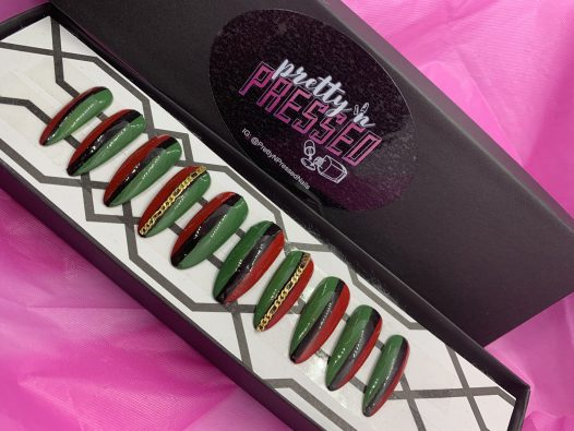 JUNETEENTH Un-chained - Pretty and Pressed Nails