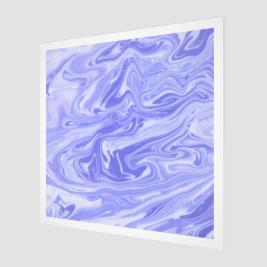 Étoile violette Fine Art Print